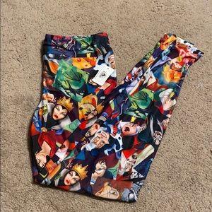 "NWT Disney ""Villain Print"" leggings"